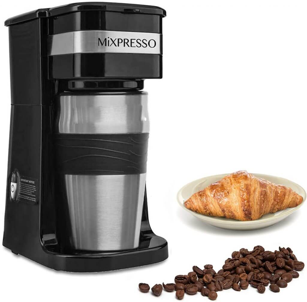 The Ultimate 2-In-1 Single Cup Coffee Maker