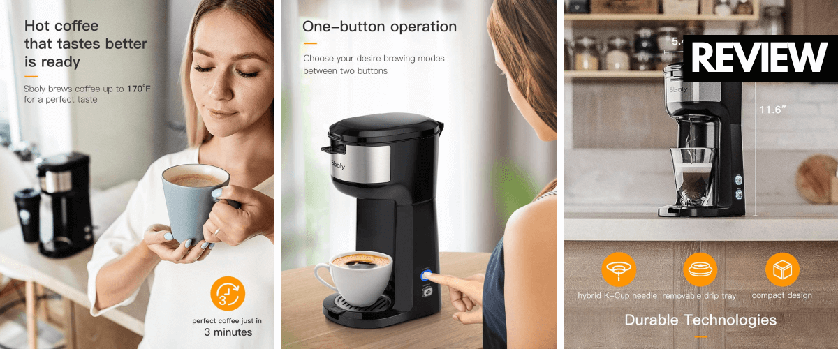 Sboly Single Serve Coffee Maker Product Review