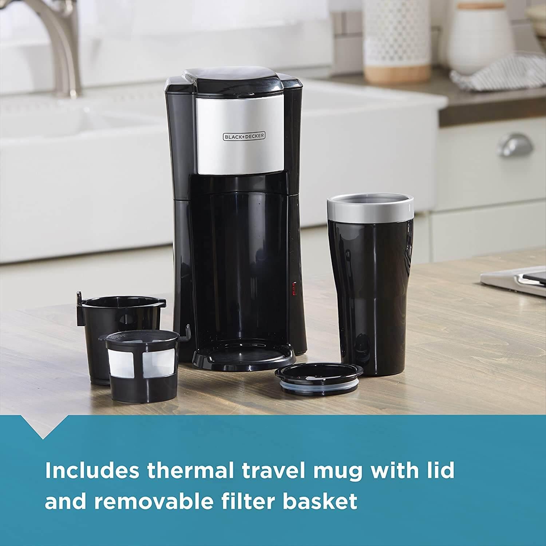 BLACK+DECKER Single Serve Coffee Maker