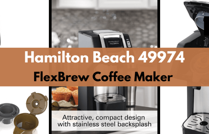 Hamilton Beach 49974 FlexBrew Coffee Maker Review