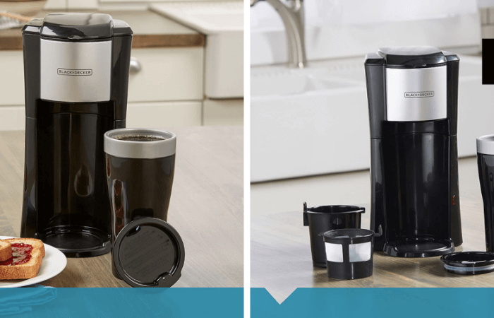 BLACK+DECKER Single Serve Coffee Maker Review