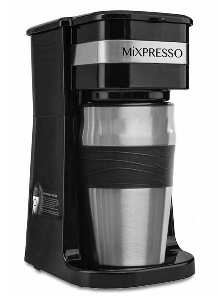 Ultimate 2-In-1 Single Cup Coffee Maker