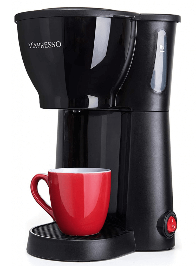Mixpresso Mini Compact Drip Coffee Maker