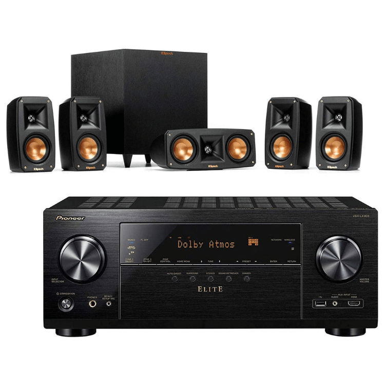 Klipsch Reference Theater Pack with Pioneer VSX-LX303