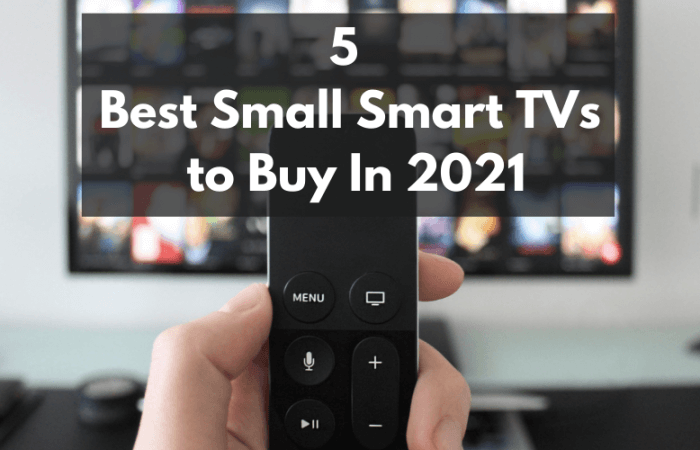 The 5 Best Small Smart TVs to Buy In 2021