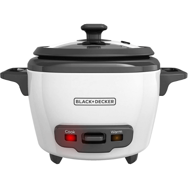Black + Decker 3-cup Uncooked Rice Cooker