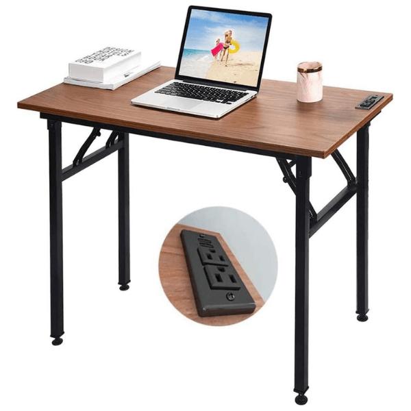 Fryer Small Folding Computer Desk