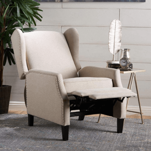 Westeros Traditional Wingback Recliner