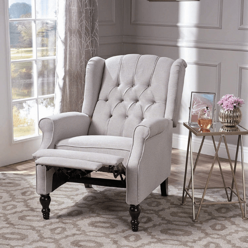 Christopher Knight Home Walter Fabric Recliner