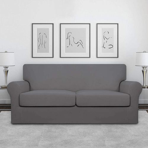 Easy Going 3-piece Stretch Loveseat Couch